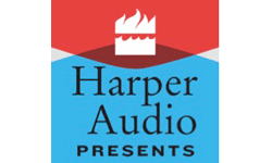 Harper Audio Presents logo